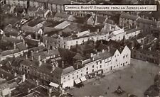 Bury St Edmunds from an Aeroplane # 1144 by Photochrom. Aerial View.