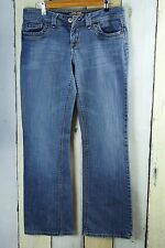 Makers of True Originals Sierra Women's Size 33 Mid-Low Rise Med. Wash Boot Cut