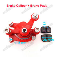 Front Disc Brake Caliper For 43cc 47cc 49cc Mini Dirt Pocket Bike Gas Scooter