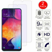 For Samsung Galaxy A20 A30 A50 A10e Premium Tempered Glass Screen Protector Film