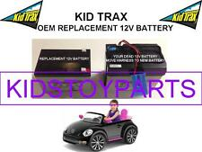 VW BEETLE OEM REPLACEMENT KID TRAX 12 VOLT LEAD ACID BATTERY