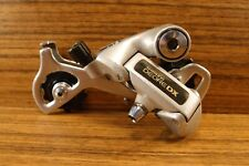 1989 MTB rear derailleur Shimano RD-M650 Deore DX 7 sp made in Japan long cage