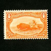 US Stamps # 287 F-VF P.O. Fresh OG NH Catalog Value $275.00