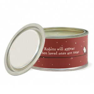 Scented Christmas Remembrance Tinned Candle | Frosted Forest | Home Gift Item