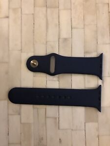 Apple Watch Sport Band 44mm Navy / Gold