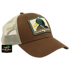 NEW BANDED GEAR MALLARD PATCH LOGO SNAPBACK CAP HAT BROWN ADJUSTABLE