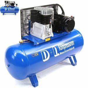 Werkstattkompressor 880 l/min 7,5PS Druckluft Kompressor 400V 500L Liter Kessel