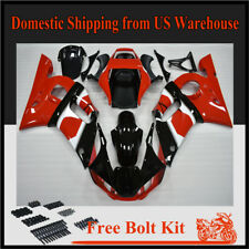 Fairing Injection ABS Plastic Kit Fit for YAMAHA 1998 1999 2000 2001 2002 YZF R6