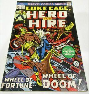 LUKE CAGE HERO FOR HIRE # 11 HAS AMAZING SPIDERMAN # 122 AD INSIDE VG/FINE COPY