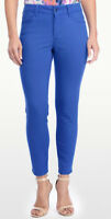 NYDJ Not Your Daughters Jeans CLARISSA Skinny ANKLE pants OLYMPIA blue 6 or 14
