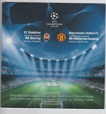 ORIG. PRG Champions League 2013/14 Shakhtar Donetsk-MANCHESTER UNITED!!!