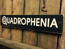 Quadrophenia Sign Plaque Wood Mod Mods Film Lambretta The Who Old Style