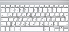 Apple Wireless Keyboard with Bluetooth Russian MC184RS/B