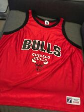 Vintage 90'S Chicago Bulls Logo 7 Team NBA Basketball Jersey Youth XL
