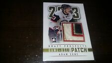 2012-13 ITG Draft Prospects Rookie PATCH GOLD ADAM ERNE SSP 1/1 Tampa Bay Number
