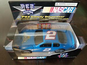 NEW 2003 Rusty Wallace #2 Last Call Pez Candy Dispenser NASCAR Car