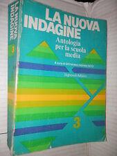 LA NUOVA INDAGINE Volume Terzo Giovanna Righini Ricci Signorelli 1984 scuola di