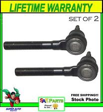 *NEW* SET Heavy Duty ES3529 Steering Tie Rod End Front Outer