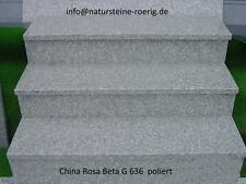 Treppen G 636 Granit  China Rosa Beta Marmor Sandstein Padang Cristal China poli
