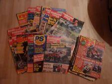 Motorrad reisen und sport 1985    Suzuki GSx-r 750 1100 Yamaha FZ Fj 1100 1200