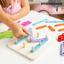 Holzspielzeug zum Zusammenbauen von Buchstaben und Zahlen Koogame InnovaGoods...