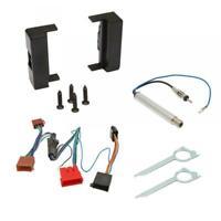 Audi Car CD Stereo Radio Single DIN Black Facia Fascia Adaptor Fitting Kit