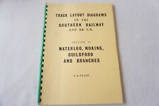 More details for track layout diagrams book southern railway s9 waterloo woking guildford