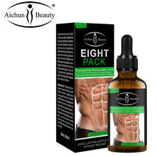 AICHUN Eight Pack Essential Oil Men Weight Loss Press Belly Burning Fat 30ml