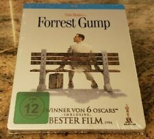Forrest Gump Steelbook Blu Ray Brand New Factory Sealed German Import Region B