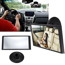 Universal  Car Interior Adjustable Baby Care Blind Spot Rear View Suction Mirror