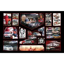 Peter Brock Signed Limited Edition Memorabilia Framed