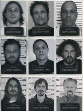 Sons Of Anarchy Seasons 6 & 7 Complete 9 Card Chase Set Mug Shots