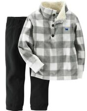Carters Boys Gray & White Sherpa...