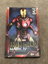 Hot Toys Iron Man 2 Mk4 MMS338 Exclusive RARE