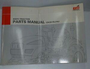 Kioti Daedong Tractor CK22 Parts Manual