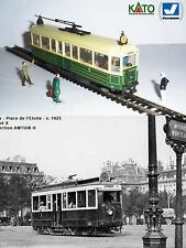 Motrice L France tram - 1923 HO/N gauge (HOe) - motorized figures KATO ATLAS