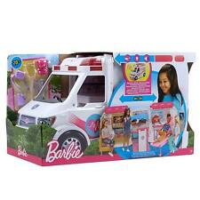 barbie ambulanza ambulance ambulancia krankenwagen care clinic hopital new FRM19