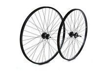 Tru-build wheels 26 x 1.75 roue arrière alliage moyeu noir visser noir 26 pouces