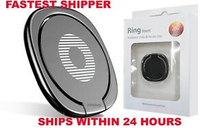 360°Finger Grip Metal Ring Kick Stand- Samsung iPhone iPad- 24 hours- IN PACKAGE