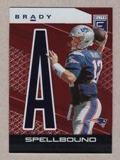 2020 Panini Donruss Elite Tom Brady Red Spellbound 98/99 Patriots Bucs