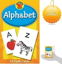 Alphabet Flash Cards Game For Toddler Kids A to Z Brighter Child Reading Skills