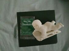 1988 Vtg Dept 56 Winter Tales of the Snowbabies, Hold On Tight #7956-1, In Box