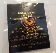 Seoul 1988 Olympic Pin - Original - Vintage Collectible