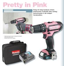 MAKITA Akkuschrauber HP331DSAP1 12V max - Pretty in Pink + 1 Akku - HP 331 DSAP1