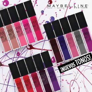 Maybelline Color Sensational Vivid Matte Liquid - CHOOSE YOUR SHADE -