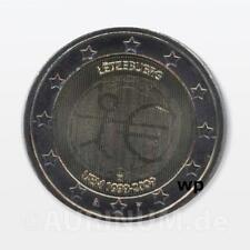 2 Euro Lussemburgo 2009 10 Anni EWU EMU