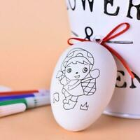 Plastic Easter Eggs for Kids DIY Painting Game Hunt Easter Party Decorations Set