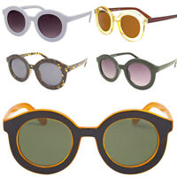 1960's Vintage Inspired Retro Round Frame Celebrity Brand Sunglasses