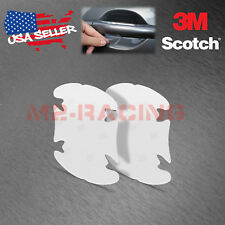 2x 3M Scotchguard Clear Paint Scratch Protector Door Handle Cup Film Sticker Bra