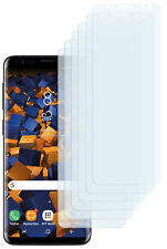 mumbi 6x Folie für Samsung Galaxy S9 Schutzfolie klar Displayschutz Displayfolie